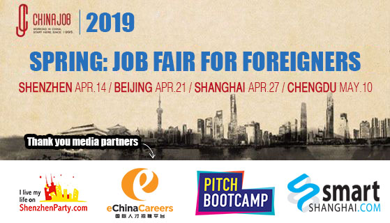 China Job Fair for Foreigners